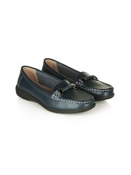 Dash Braid Mocassian Navy