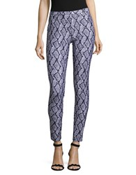 Michael Michael Kors Plus Printed Knit Leggings White