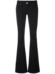 Don't Cry Flared Trousers Black