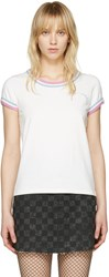 Marc Jacobs Ivory Rainbow 70S T Shirt
