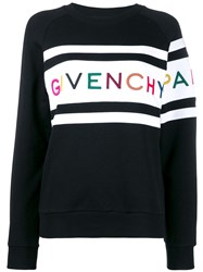 Givenchy Logo Strip Sweatshirt Black