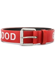 Paul Smith Ps Good Belt Red