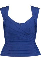 Herve Leger Bandage Top Royal Blue