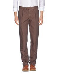 Doppiaa Trousers Casual Trousers Brown
