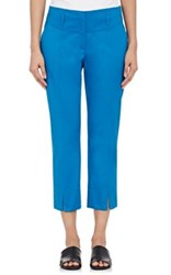 Philosophy Di Alberta Ferretti Women's Twill Crop Trousers No Color