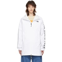 The North Face White Cultivation Anorak Jacket