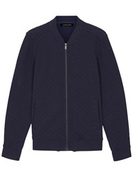 Jaeger Quilted Bomber Jacket Navy