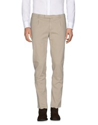 Royal Hem Casual Pants Beige