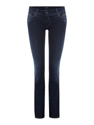 Replay Rearmy Slim Bootcut Jeans Denim Dark Indigo