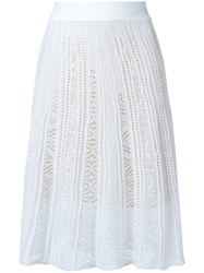Cecilia Prado Knit Skirt White