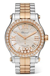 Chopard Happy Sport 36Mm 18 Karat Rose Gold