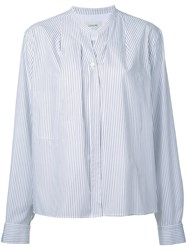Christophe Lemaire Wrap Over Shirt Women Cotton 36 White