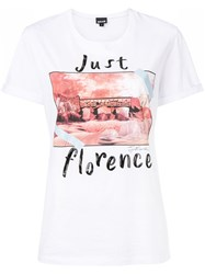 Just Cavalli Florence T Shirt White