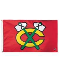 Wincraft Chicago Blackhawks Deluxe Flag Red