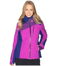 Obermeyer Kitzbuhel Jacket Violet Vibe Women's Coat Purple
