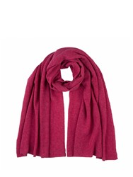 Johnstons Of Elgin Cashmere Gauzy Stole Red