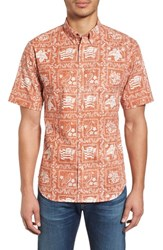 Reyn Spooner Lahaina Sailor Tailored Fit Sport Shirt