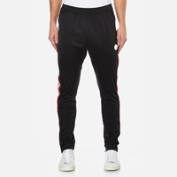 Msgm Men's Side Stripe Tracksuit Bottoms Black