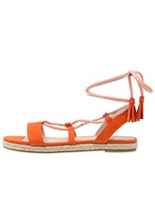 Evenandodd Sandals Orange