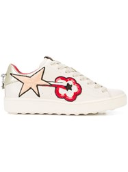 Coach C101 Shooting Star Sneaker Nude And Neutrals