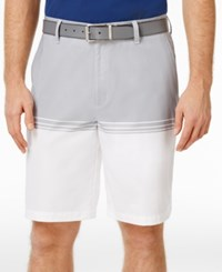 Greg Norman For Tasso Elba Men's Colorblocked Stretch Shorts Only At Macy's Blue Socket