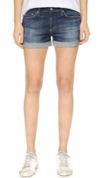 Ag Jeans The Hailey Ex Boyfriend Roll Up Shorts 10 Year Day Breaker