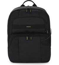 Samsonite Openroad Infinipak Nylon Backpack Jet Black