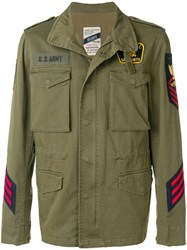 History Repeats Field Jacket Green