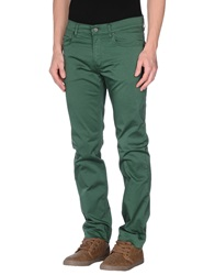 Byblos Casual Pants Dark Green
