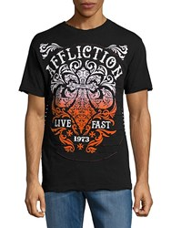 Affliction Truth Graphic Crewneck Tee Black