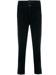 Closed Corduroy Tapered Trousers Blue