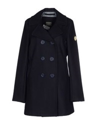 Replay Coats Dark Blue