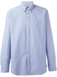 Hackett Button Down Shirt Blue