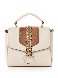 Biba Jenna Top Handle Shoulder Bag Bone