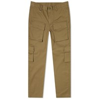 Sophnet. Multi Pocket Slim Fit Cargo Pant Brown