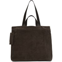 Marsell Brown Suede Tote