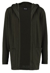 Only And Sons Onsnoki Cardigan Forest Night Dark Green
