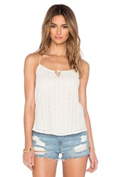 Candc California Lace Tank Beige