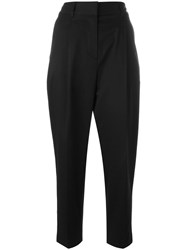 3.1 Phillip Lim High Waisted Tailored Trousers Black