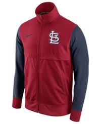 Nike Men's St. Louis Cardinals Track Jacket Red