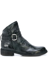Officine Creative Distressed Style Side Buckle Boots 60