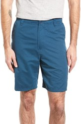 Quiksilver Men's Waterman Collection Maldive Cargo Shorts Indian Teal