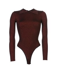 Alaia Sweaters Brick Red