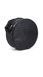 Le Sport Sac Lesportsac Carlin Canteen Crossbody Bag Black Croco
