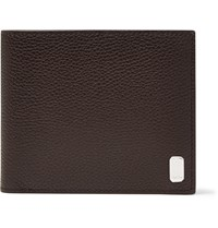 Dunhill Belgrave Full Grain Leather Billfold Wallet Brown