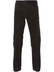 Armani Jeans Regular Fit Jeans Brown