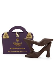 Charbonnel Et Walker Purple Handbag And Chocolate Heels