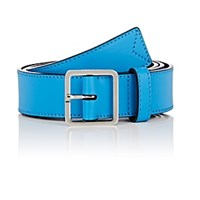 Calvin Klein 205W39nyc Leather Belt Blue