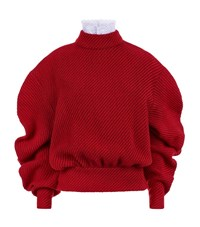 A.W.A.K.E Preppy Victoria Sweater Female Red