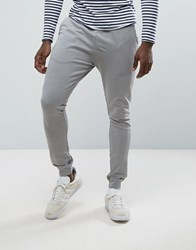 Only And Sons Jersey Joggers Griffin Grey